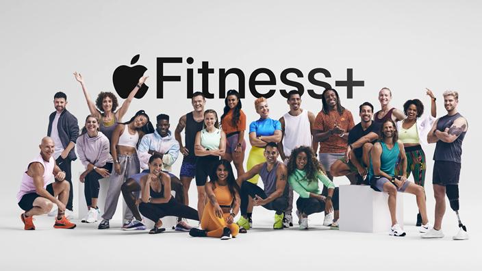 Fitness +服務在美國有很大需求。(蘋果網站截圖)