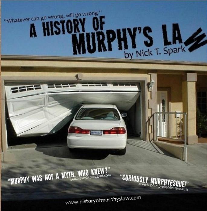 《墨菲定律史》的封面。