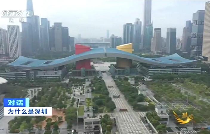今天的深圳已是亞洲前列的大城市。