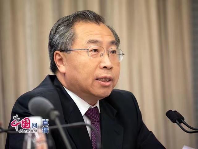 國藥集團董事長、黨委書記劉敬楨。中國網圖片