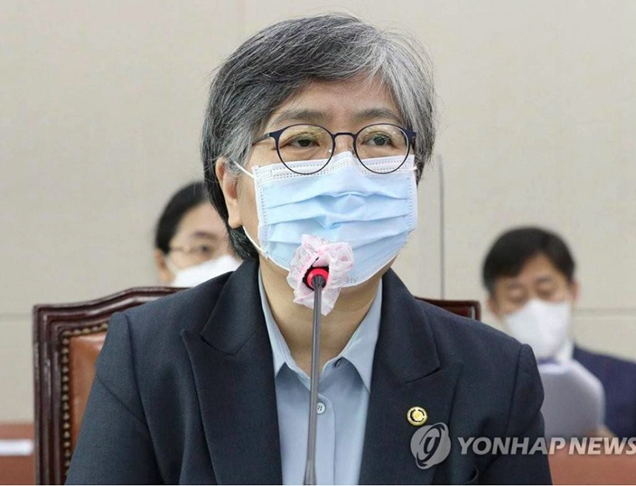 韩国疾病管理厅厅长郑银敬。
