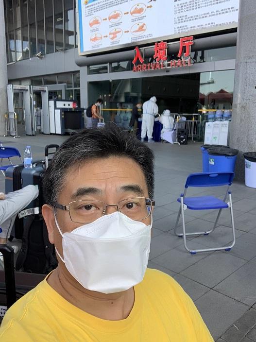 楊德斌(Allen)日前已到深圳,14天隔離結束後將在深圳、廣州及澳門等地協調相關工作。