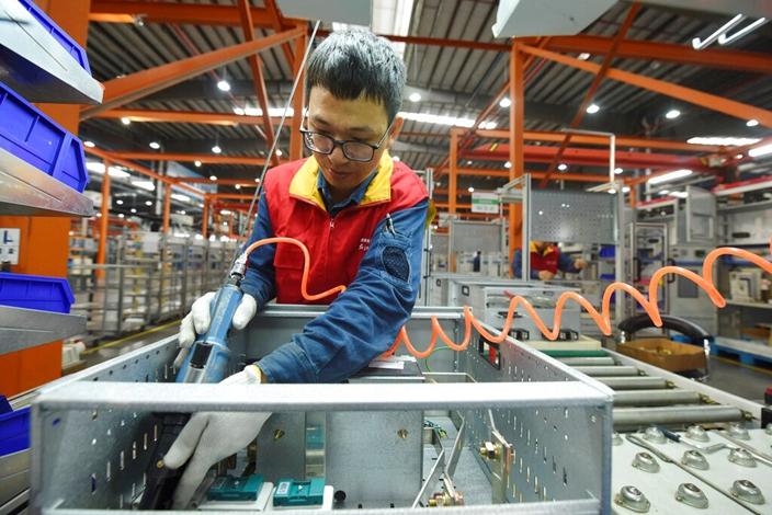 中國製造蘊藏的秘密,是可拆解但難抄襲。(AP圖片)