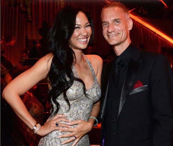 Tim Leissner(右)和他的妻子。
