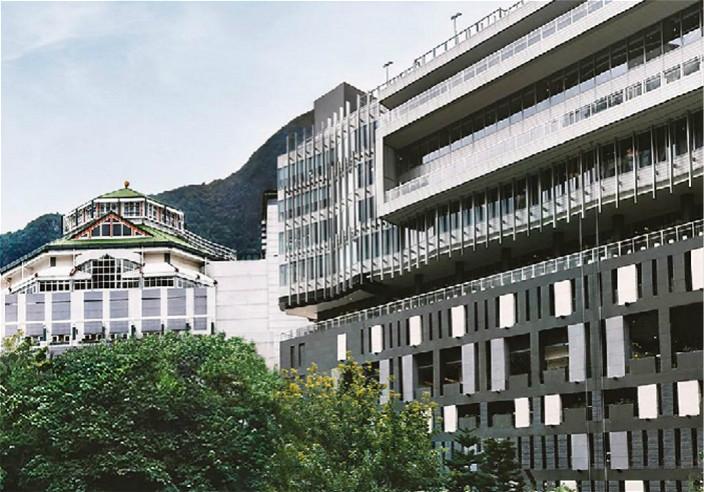 马会新会所大楼。