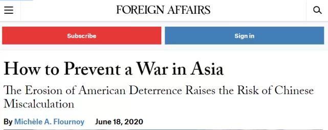 美國《外交事務》翻紅的一篇文章。