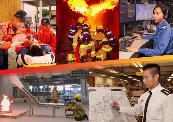 消防處除了負責救火外,還有很多工作。