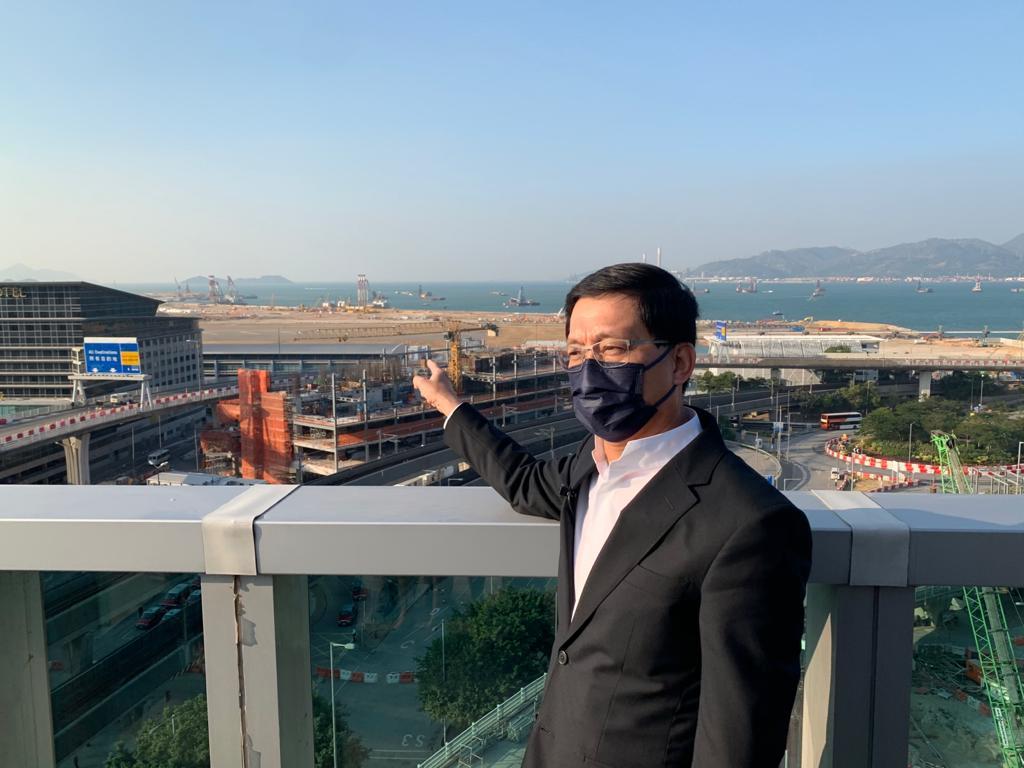机管局行政总裁林天福。