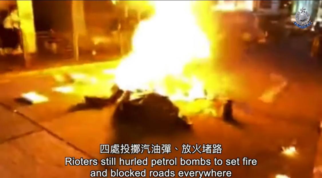 年初暴力示威仍然持續。