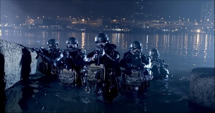 警方「水鬼隊」。