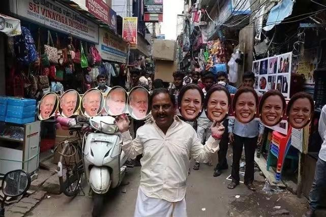 夏锦丽的海报在印度随处可见。