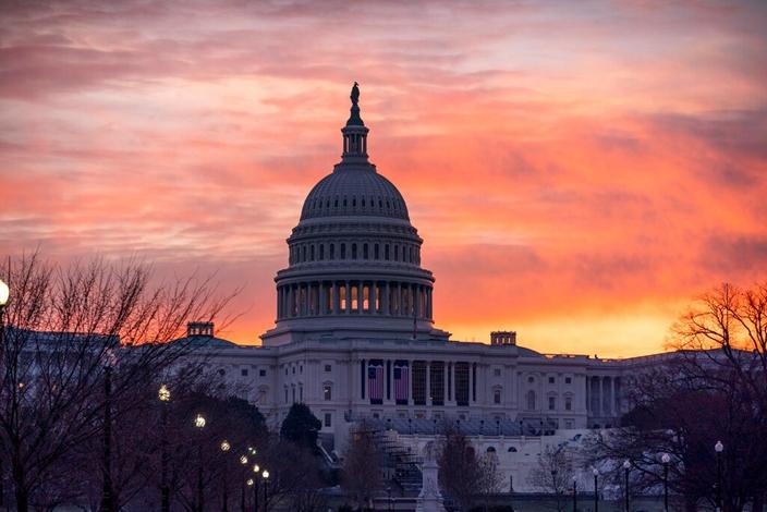 美國國會山莊。(AP圖片)