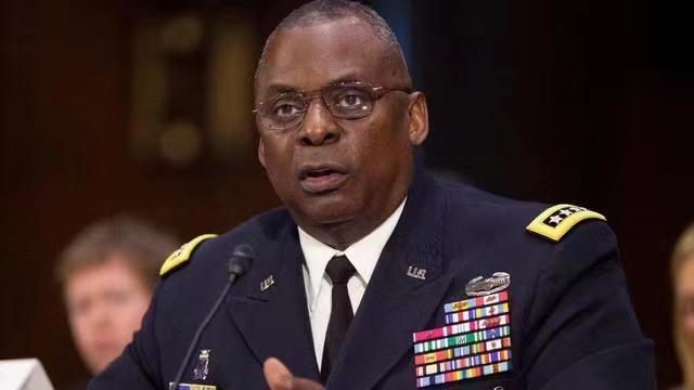 美國國防部長奧斯汀。