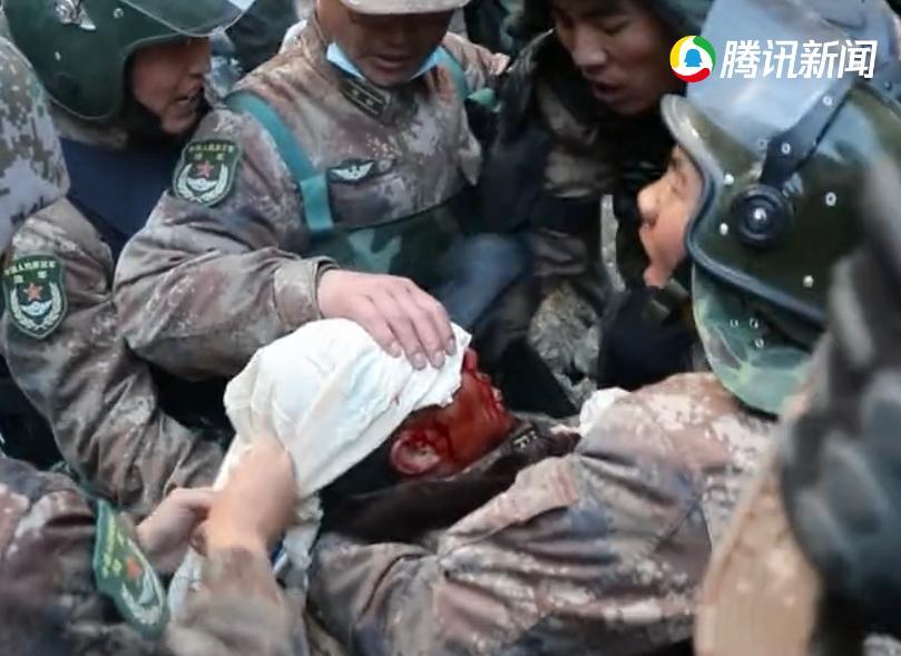 祁發寶遇襲受重傷。