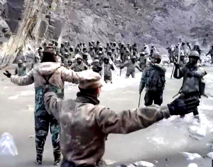 解放軍英雄,為國家民族 ,為國家名譽,而犧牲性命。
