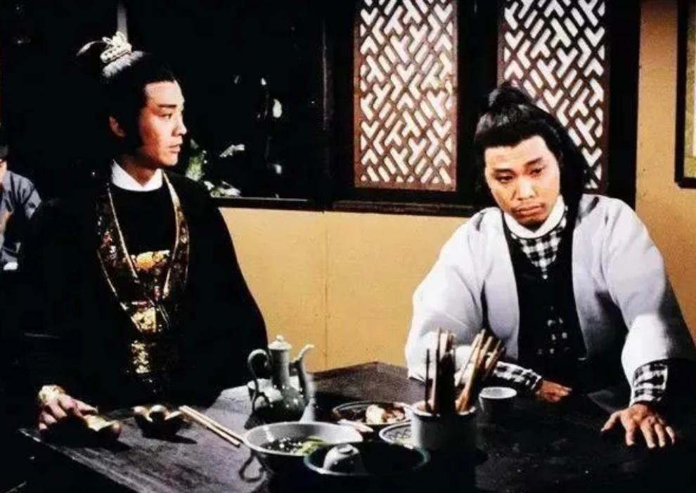 1979年《楚留香傳奇》中的吳孟達。