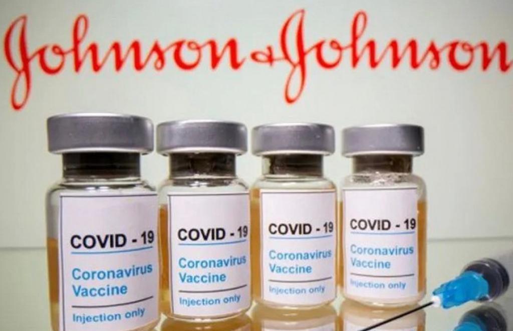 強生公司的疫苗。