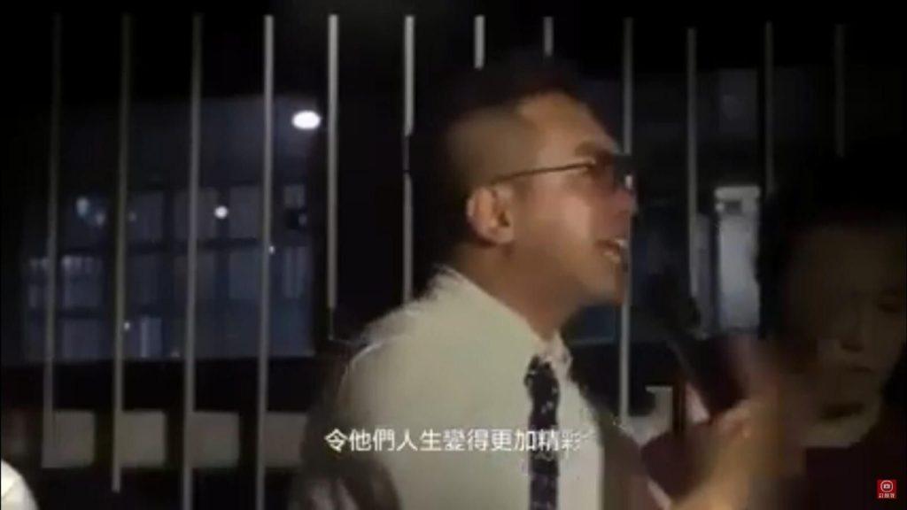 楊岳橋當年的「有案底令人生更精彩」語出驚人。