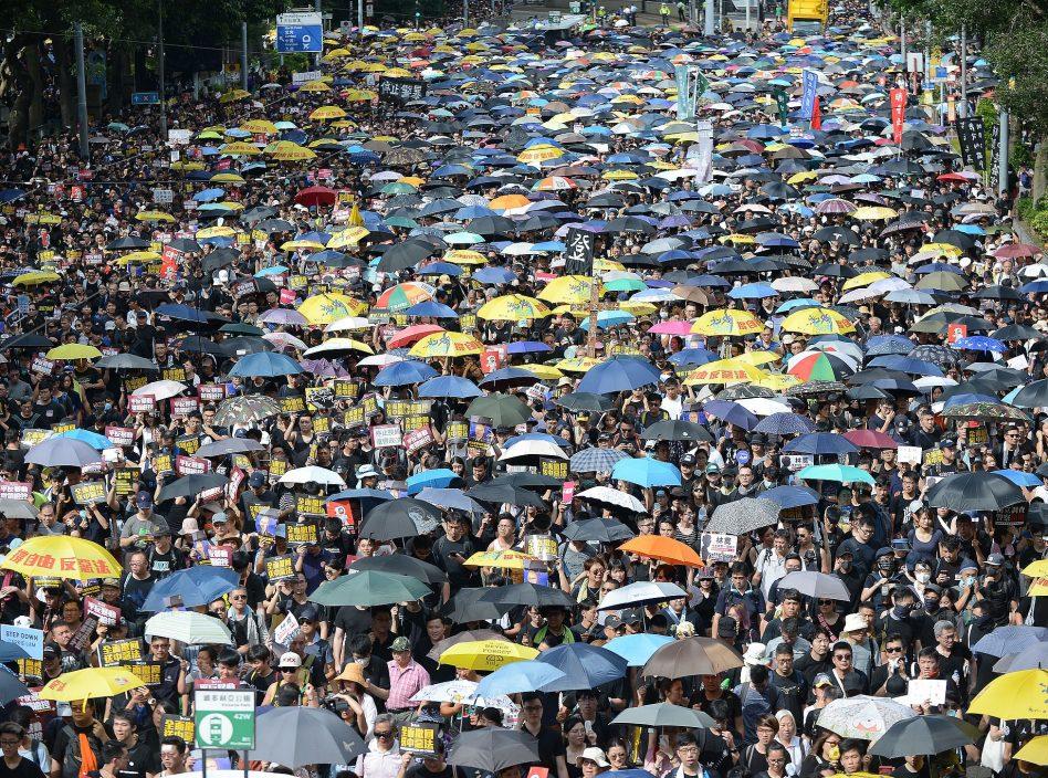 民陣經常組織遊行。資料圖片