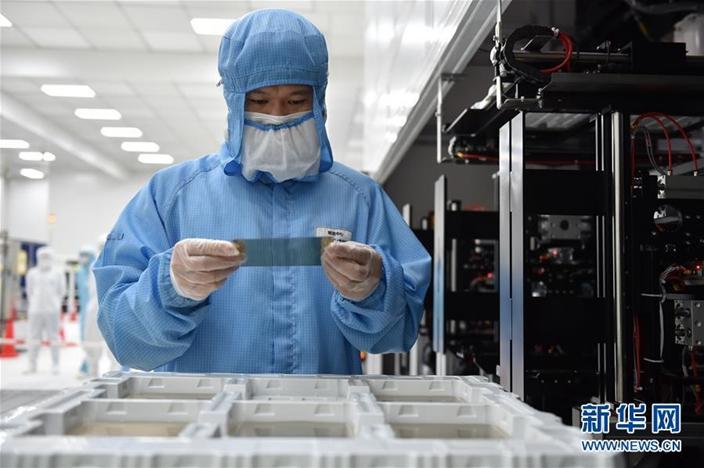中國自主科技研發實力愈來愈強。(新華社圖片)
