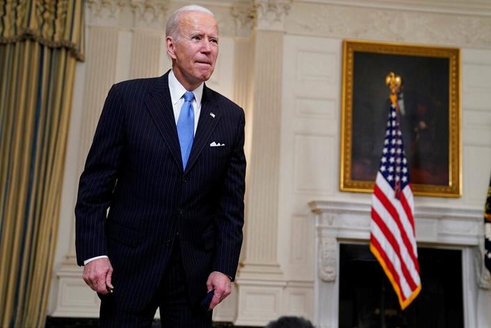 美國總統拜登準備新的對華科技戰。(AP圖片)