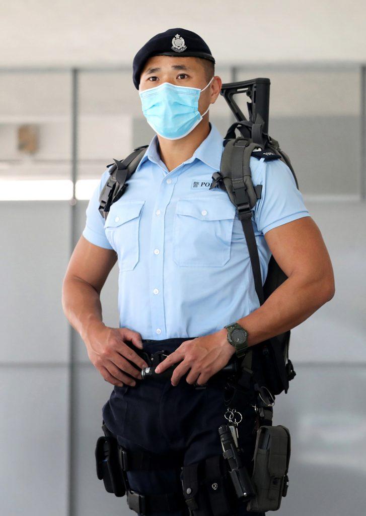 """警长""""芝达""""现任职于反恐特勤队。"""