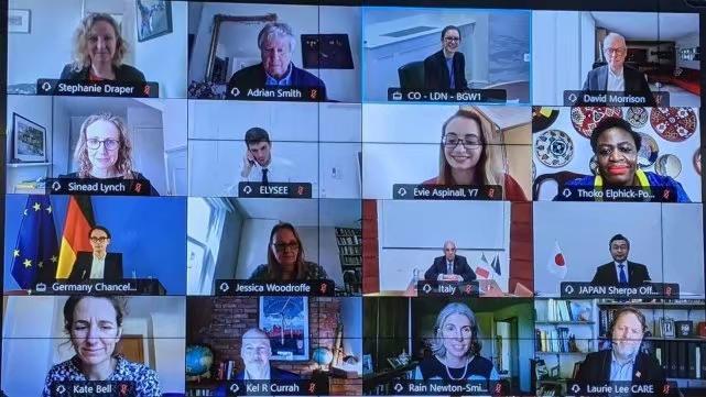 G7召开视频贸易部长会议。