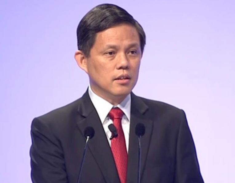 新加坡贸工部长陈振声。