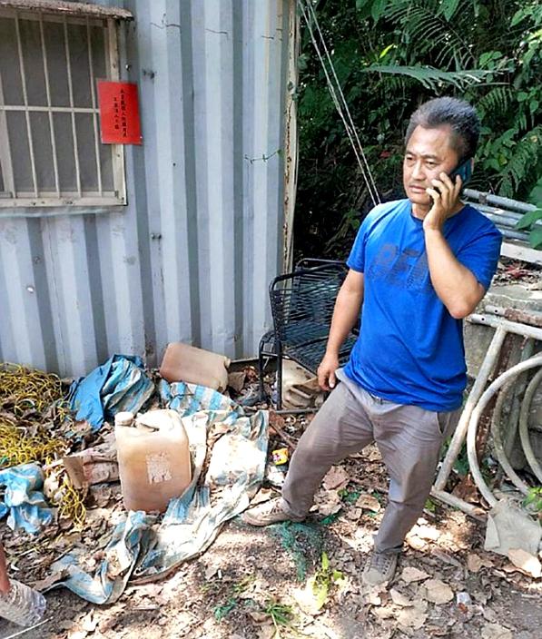 台铁事件出事的外判工程老板李义祥。