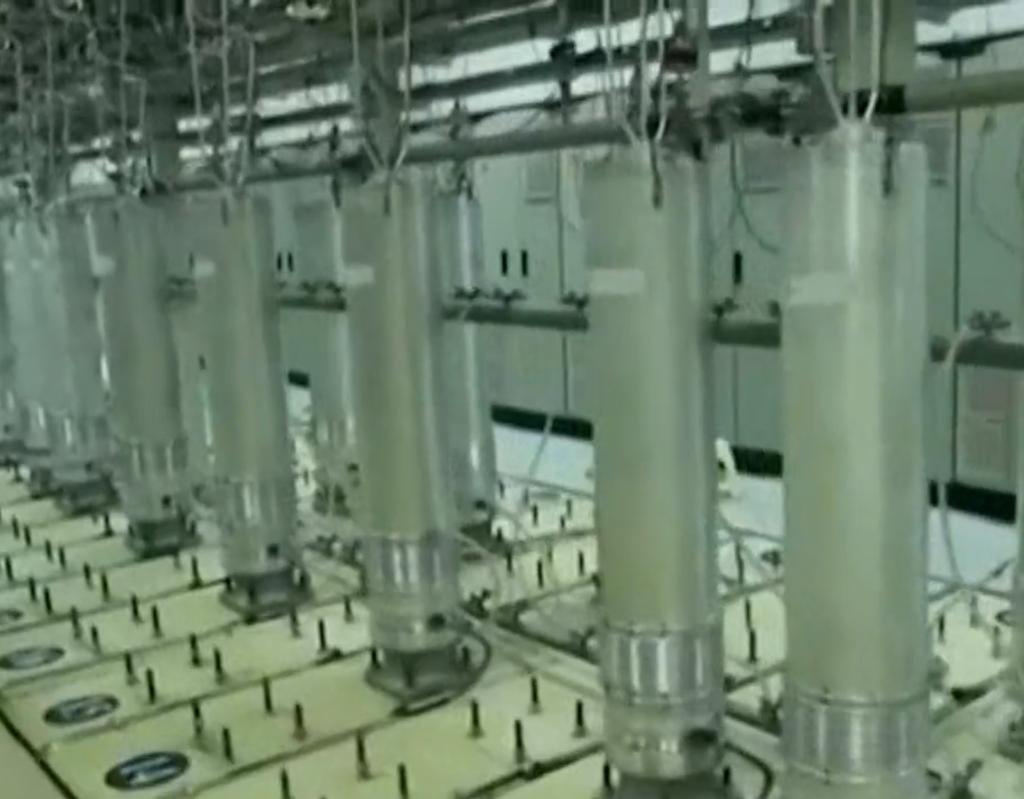 利用离心机层层递进,可以不断提高铀235的丰度。