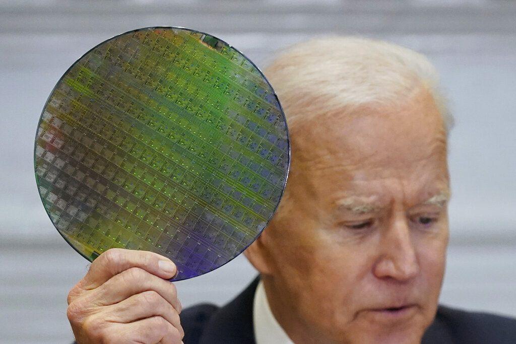 美國總統拜登。AP圖片