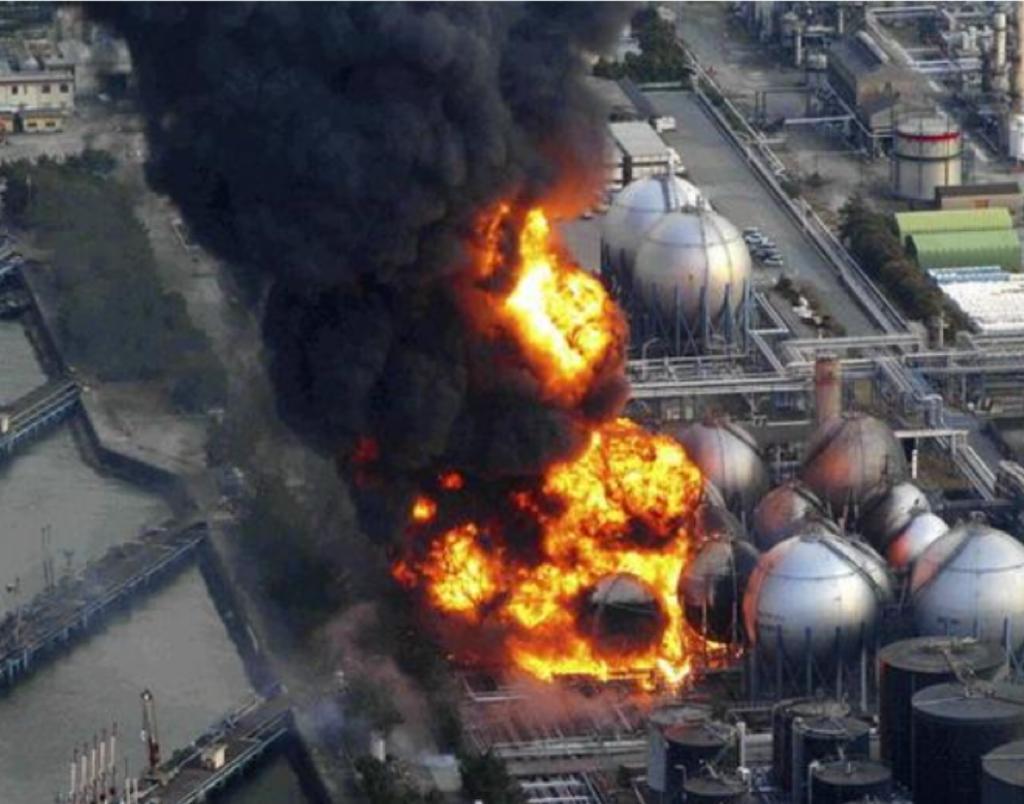 福島核電站當年因海嘯發生核洩漏。