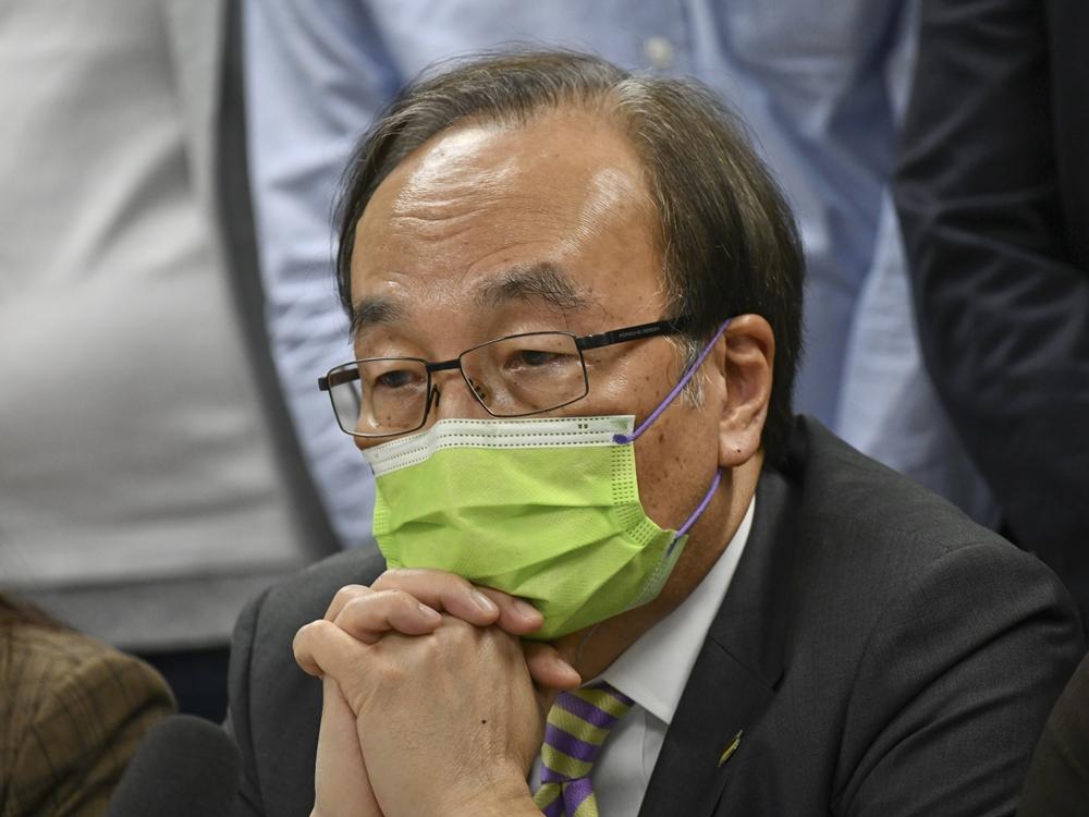 公民黨主席梁家傑。