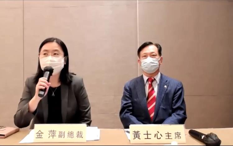 圖:金萍及黃士心都呼籲更多企業員工及市民參與疫苗接種計劃。