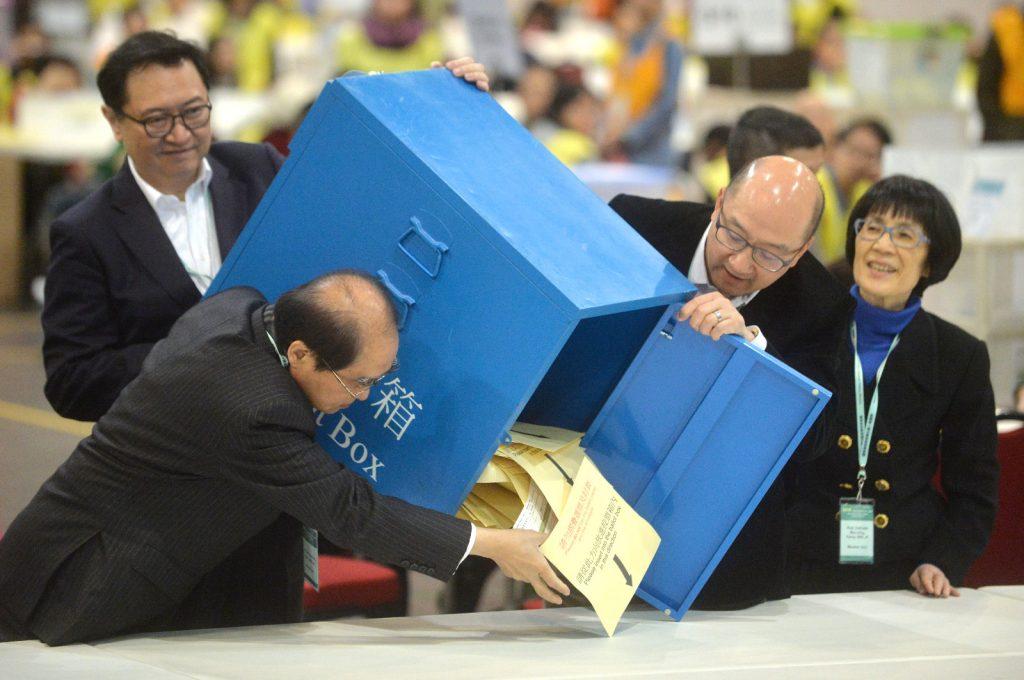 2016年选委会选举。