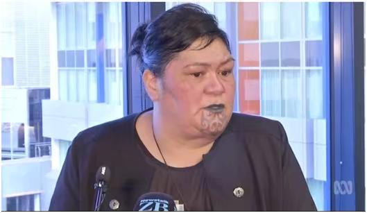 馬胡塔接受採訪。ABC圖片