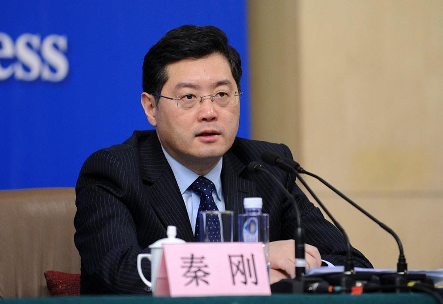 外交部副部長秦剛擔任下一任駐美大使。
