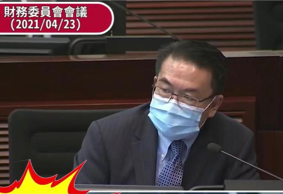 法援署署长邝宝昌。