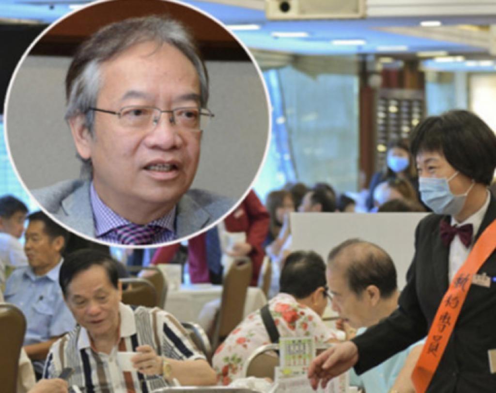 香港餐飲聯業協會會長黃家和早前收到政府的寛鬆版本。