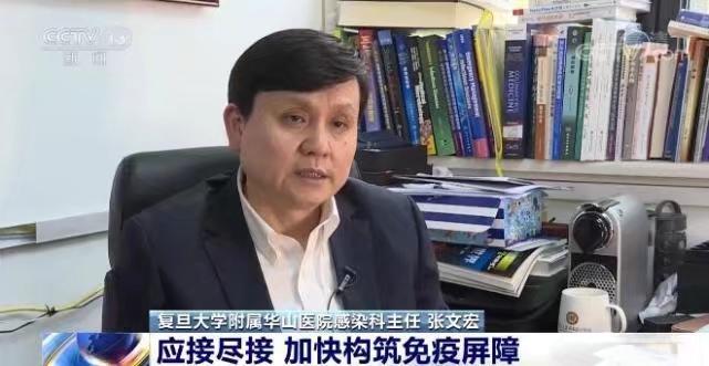 復旦大學附屬華山醫院感染科主任張文宏。