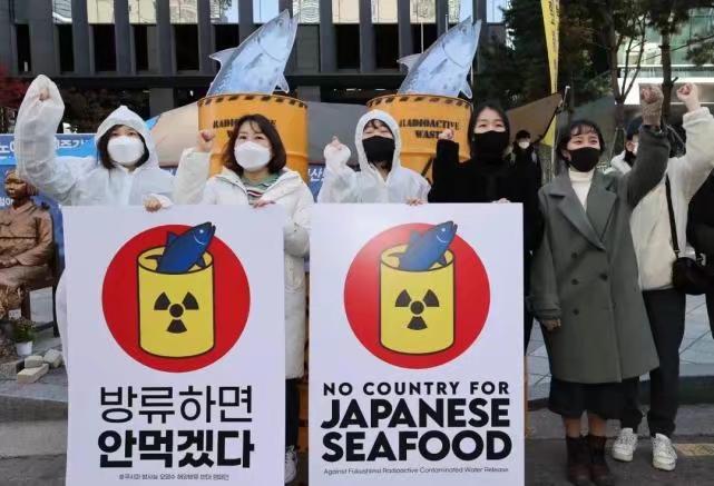 南韓民眾反應激烈,不斷抗議。