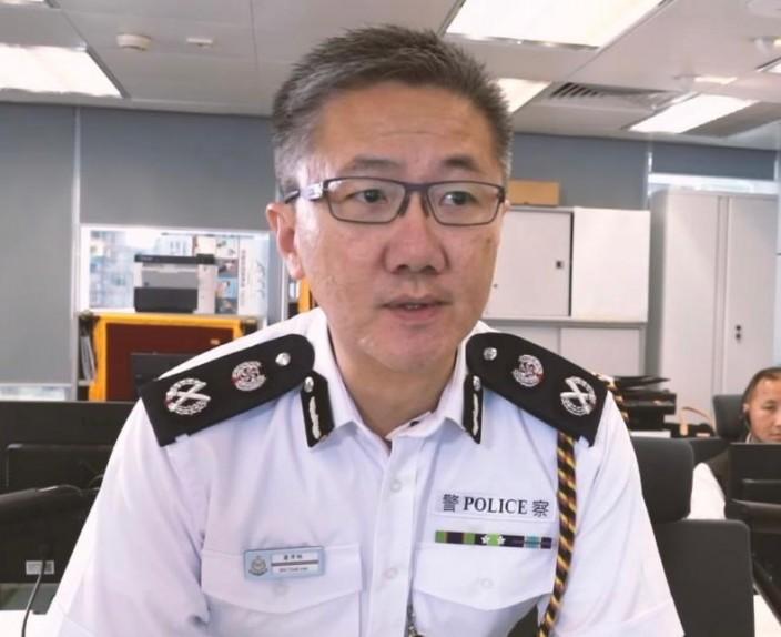 警務處副處長(行動)蕭澤頤親身參與的防騙宣傳片《反詐時速》。