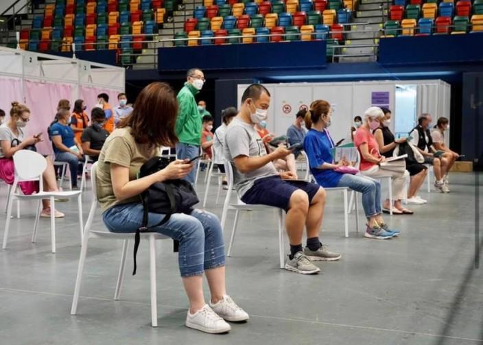 香港接種疫苗人數未夠多。政府圖片