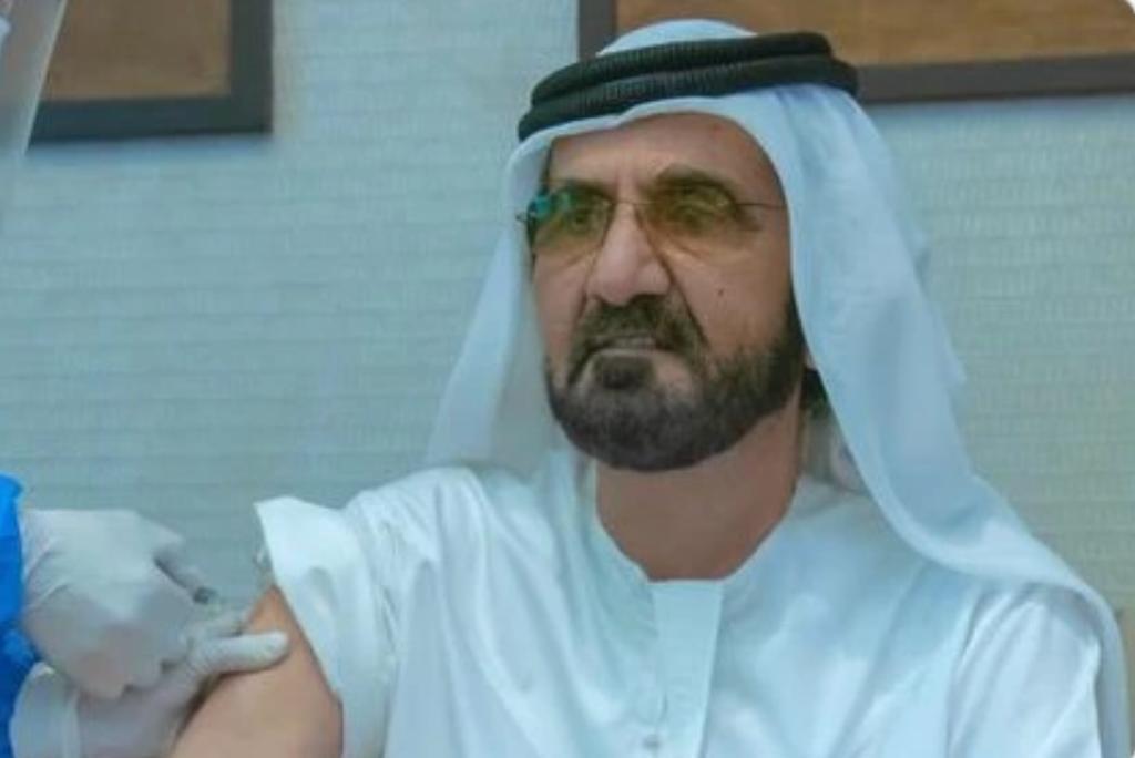 阿聯酋副總統兼總理阿勒馬克圖姆接種了國藥新冠疫苗。