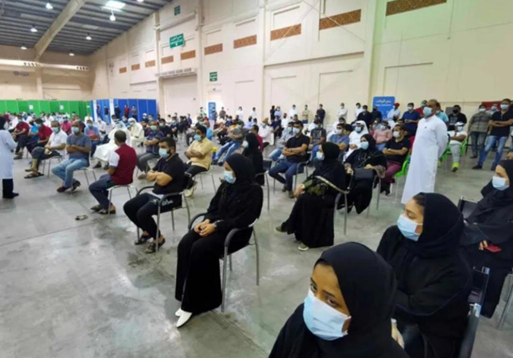 去年已有大量巴林志願者接種國藥疫苗。