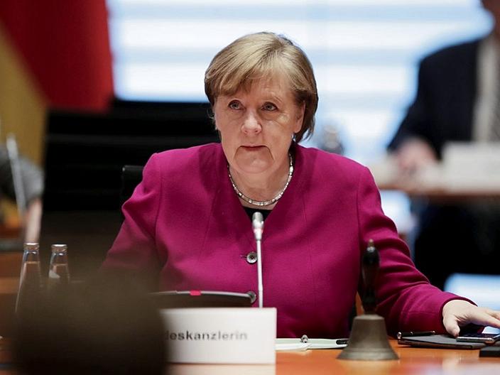 默克爾重申對歐中投資協定的支持