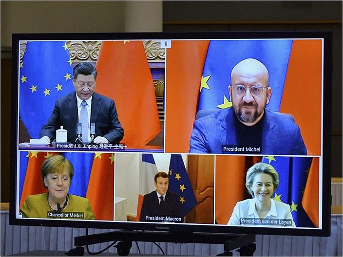 「中歐全面投資協定」前景受關注。