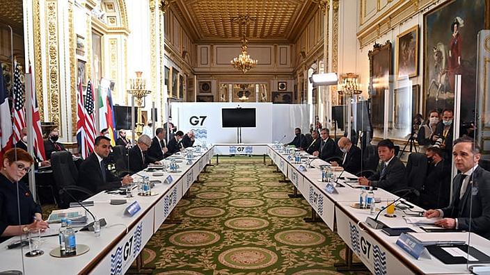 G7外長會議共同聲明