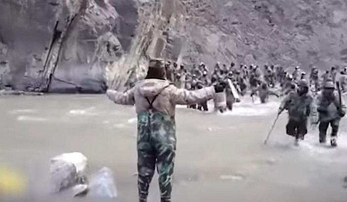去年中印流血冲突中,中国的军队其实已经相当克制。