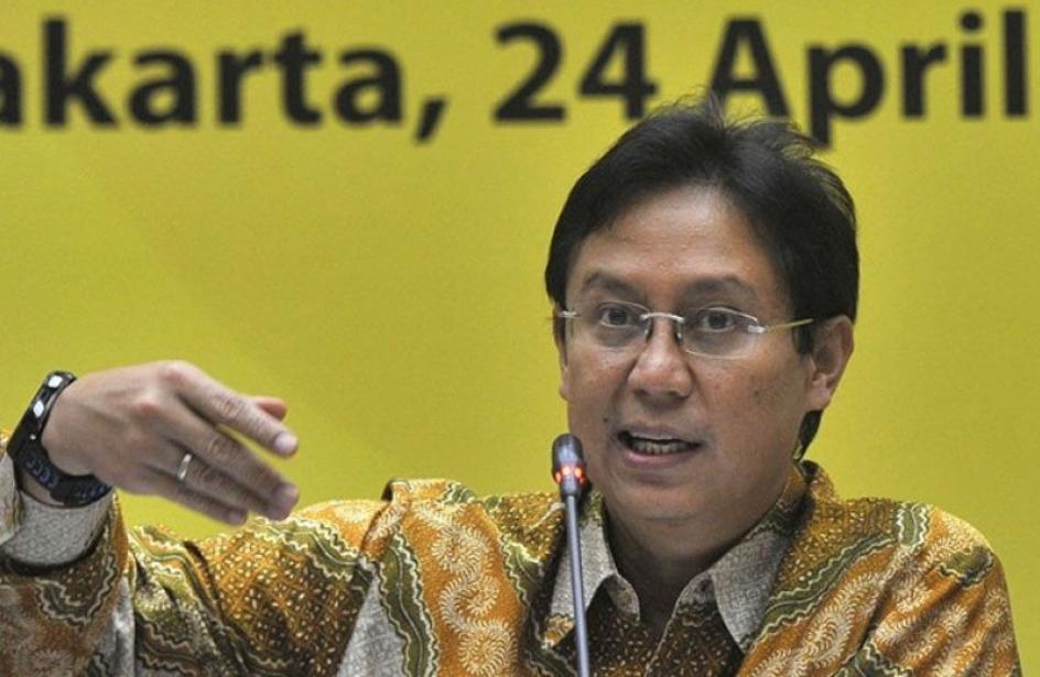 印尼卫生部长萨迪金。